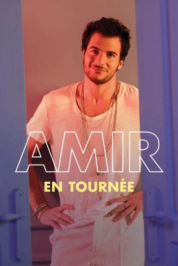 Visuel tournee concert Amir