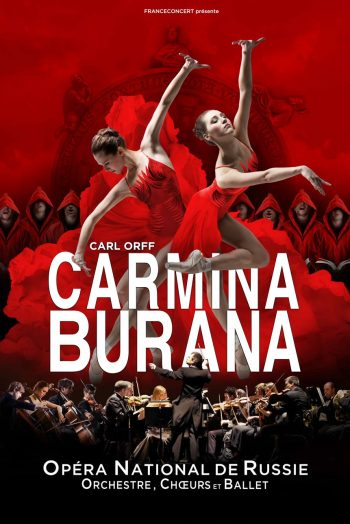 Affiche Carmina Burana spectacle opéra national de russie Le Phare Grand Chambéry
