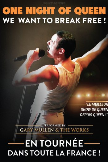 Affiche One night of queen concert Le Phare Grand Chambéry