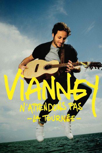 Affiche carré Vianney n'attendons pas tournée Le Phare Grand Chambéry