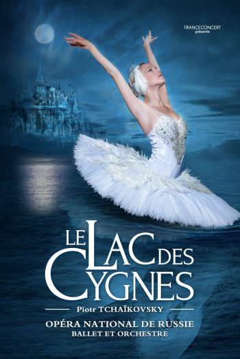 Affiche Le Lac des Cygnes Le Phare Grand Chambéry ballet spectacle danse