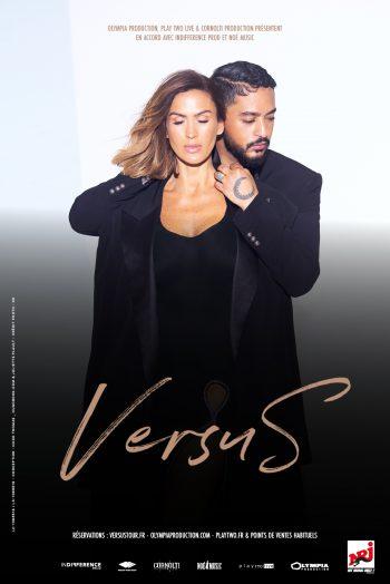 Affiche Vitaa & Slimane versus tour tournée concert Le Phare Grand Chambéry