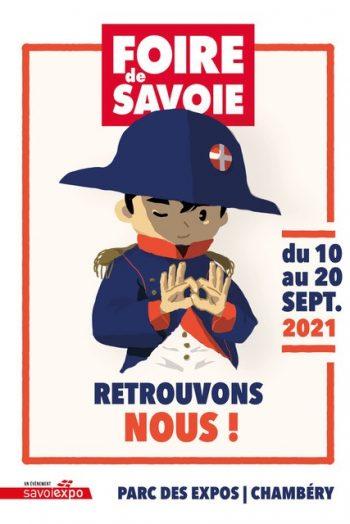 Affiche Foire de Savoie 2021 Le Phare parc expo Chambéry